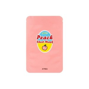 A'pieu Peach & Yogurt Sheet Mask Maska w płacie