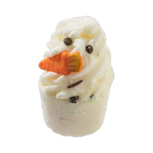 BOMB cosmetics Kremowa babeczka do kąpieli The Little Snowman