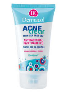Dermacol AcneClear Antibacterial Face Wash Gel Żel do mycia twarzy 150 ml