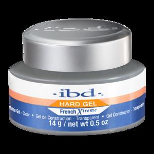 IBD Hard Gel Żel budujący do paznokci French Xtreme LED/UV CLEAR 14g