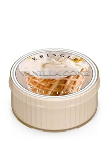 Kringle Candle Coloured Daylight Świeczka zapachowa Vanilla Cone