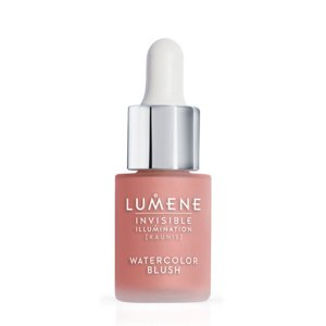 Lumene Invisible Illumination Watercolor Blush Róż z serum do twarzy Pink Blossom
