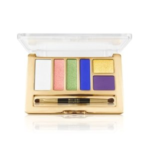 Milani EVERYDAY EYES POWDER EYESHADOW COLLECTION Paleta 6 cieni 06 Vital Brights