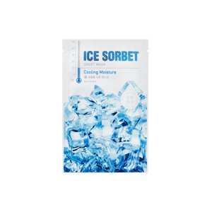 Missha Ice Sorbet Sheet Mask Maska do twarzy w płacie Cooling Moisture