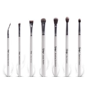 Nanshy Eye Brush Set Pearlescent White Zestaw 7 pędzli do oczu