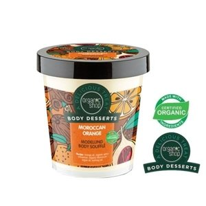 Organic Shop Body Desserts Modelujący suflet do ciała Moroccan Orange BD19