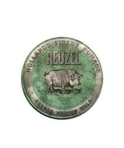 Reuzel Green Grease Medium Hold Pig Woskowa pomada do włosów 113g