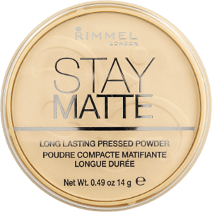 Rimmel Stay Matte Puder do twarzy 01 Transparent