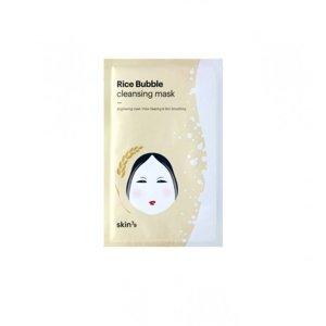 SKIN79  Rice Bubble Cleansing Mask Ryżowa maska w płacie