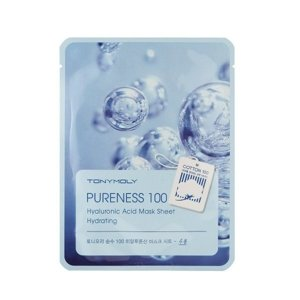 Tony Moly Pureness 100 Sheet Mask Hydrating Maska w płacie HYALURONIC ACID