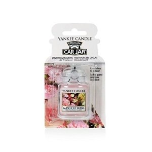 Yankee Candle Car Jar Ultimate Zapach do samochodu Fresh Cut Roses
