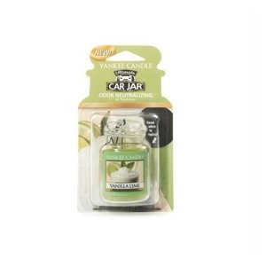 Yankee Candle Car Jar Ultimate Zapach do samochodu Vanilla Lime