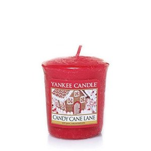 Yankee Candle świeca SAMPLER Candy Cane Lane