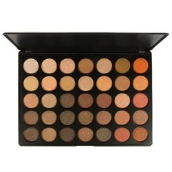 Morphe 35OS - 35 COLOR SHIMMER NATURE GLOW EYESHADOW PALETTE Paleta cieni