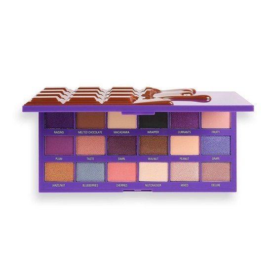 I Heart Revolution Makeup Fruit And Nut Chocolate Palette Paleta cieni