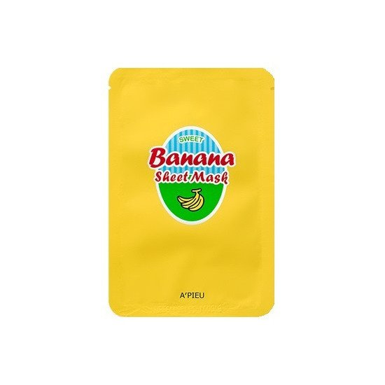 A'pieu Banana & Honey Sheet Mask Maska w płacie
