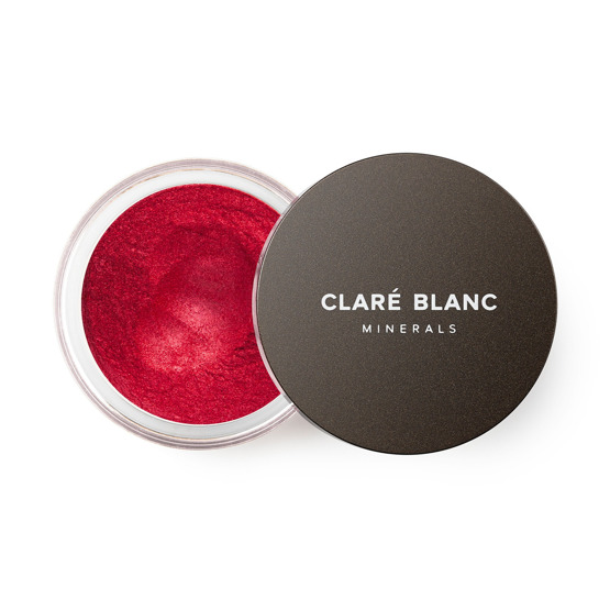Claré Blanc Cień do powiek No.876 REAL RED 1g