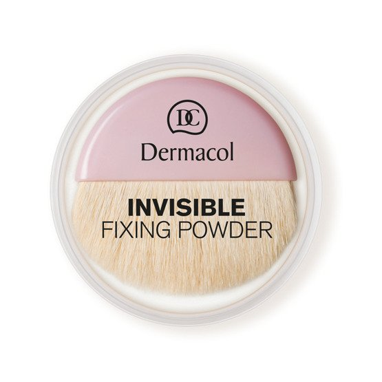 Dermacol Invisible Fixing Powder Puder Transparentny Natural