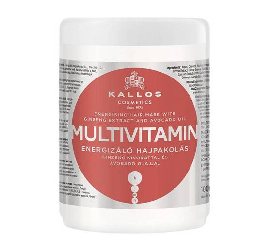 Kallos KJMN Maska do włosów MULTIVITAMIN 1000ml