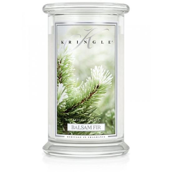 Kringle Candle ŚWIECA W SŁOIKU DUŻA Balsam Fir