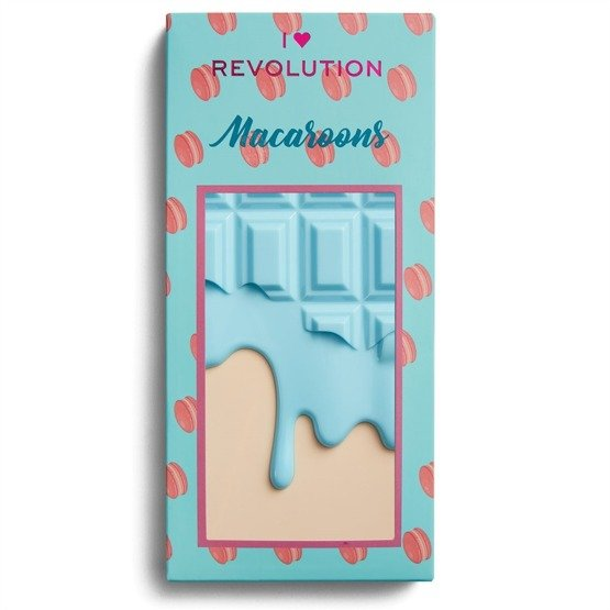 Makeup Revolution Paleta cieni Macaroons Chocolate