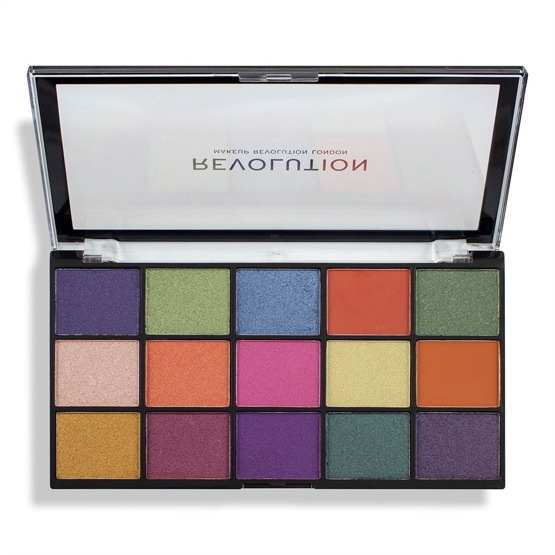 Makeup Revolution Paleta cieni Re-Loaded Palette - Passion for Colour