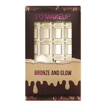 Makeup Revolution Paleta do konturowania Bronze and Glow