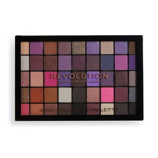 Makeup Revolution REVOLUTION Paleta cieni MAXI Re-Loaded Palette - Baby Grand