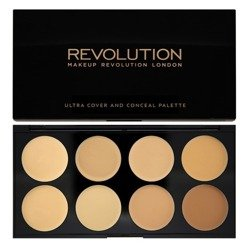 Makeup Revolution REVOLUTION Paleta korektorów LIGHT-MEDIUM