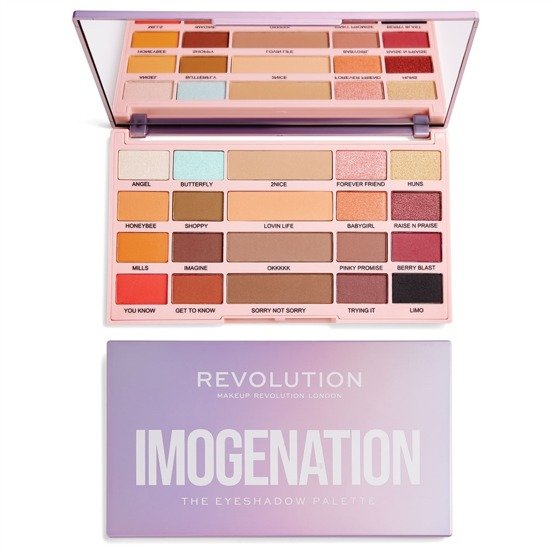 Makeup Revolution REVOLUTION X IMOGENATION The Eyeshadow Palette Paleta do makijażu