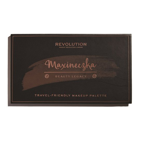 Makeup Revolution REVOLUTION X MAXINECZKA Paleta do makijażu - Beauty Legacy - TRAVEL-FRIENDLY MAKEUP PALETTE