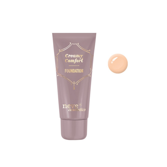 Neve Cosmetics Creamy Comfort Foundation Podkład do twarzy Medium Neutral