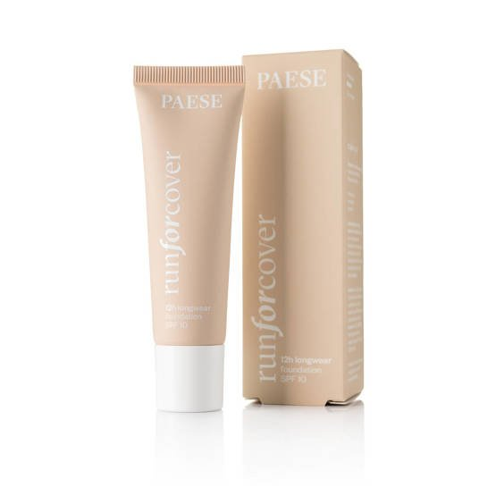 Paese Run for Cover 12h longwear foundation SPF10, Podkład do twarzy 20N Nude, 30ml