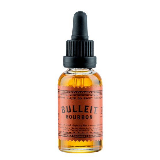 Pan Drwal Olejek do brody Bulleit Bourbon 30ml