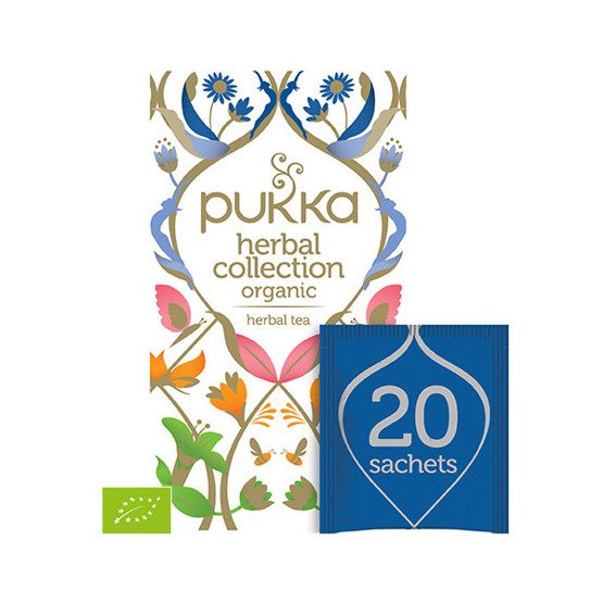 Pukka Herbata Herbal Collection - Mix - 20 saszetek