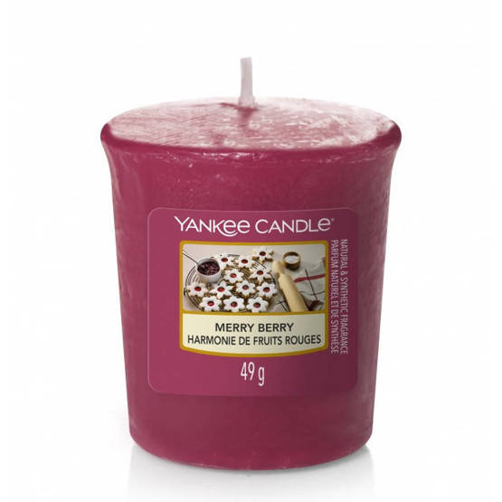 Yankee Candle Sampler Merry Berry
