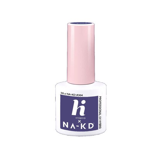hi hybrid NAKD Lakier hybrydowy #304 Heather Wind 5ml