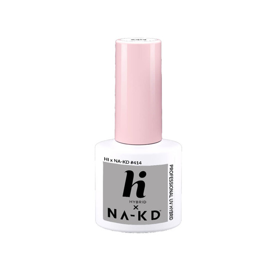 hi hybrid NAKD Lakier hybrydowy #414 Light Grey 5ml